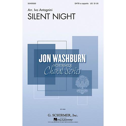 G. Schirmer Silent Night (Jon Washburn Choral Series) SATB Divisi arranged by Ivo Antognini