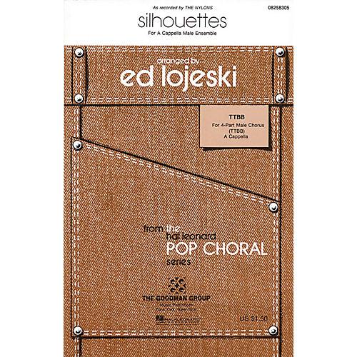 Hal Leonard Silhouettes TTBB A Cappella by The Nylons arranged by Ed Lojeski-thumbnail