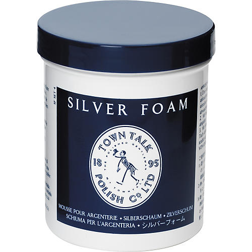 Town Talk Polish Silver Foam Polish