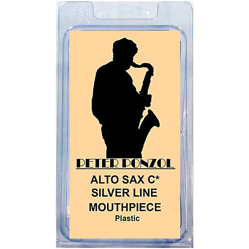 Peter Ponzol Silver Line Premium Saxophone Mouthpiece Kit-thumbnail