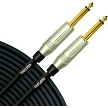"Mogami Silver Series 1/4"" Straight Instrument Cable 8 in."
