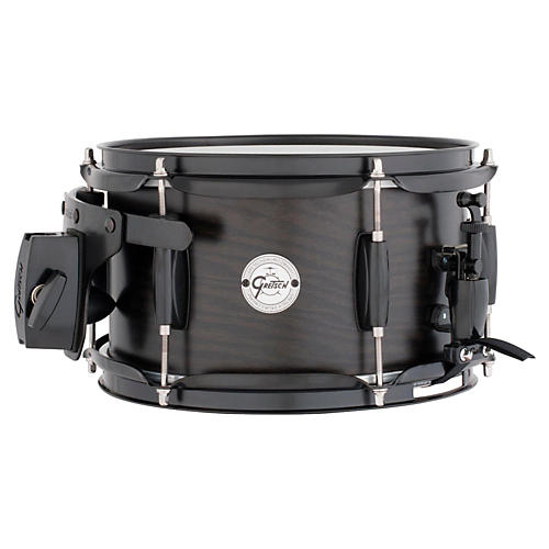 Gretsch Drums Silver Series Ash Side Snare Drum with Black Hardware 10X6 Satin Ebony