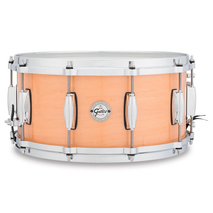 Gretsch DrumsSilver Series Maple Snare Drum14X6.5Natural