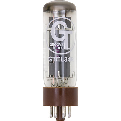 Groove Tubes Silver Series ST-EL34-R Power Tube