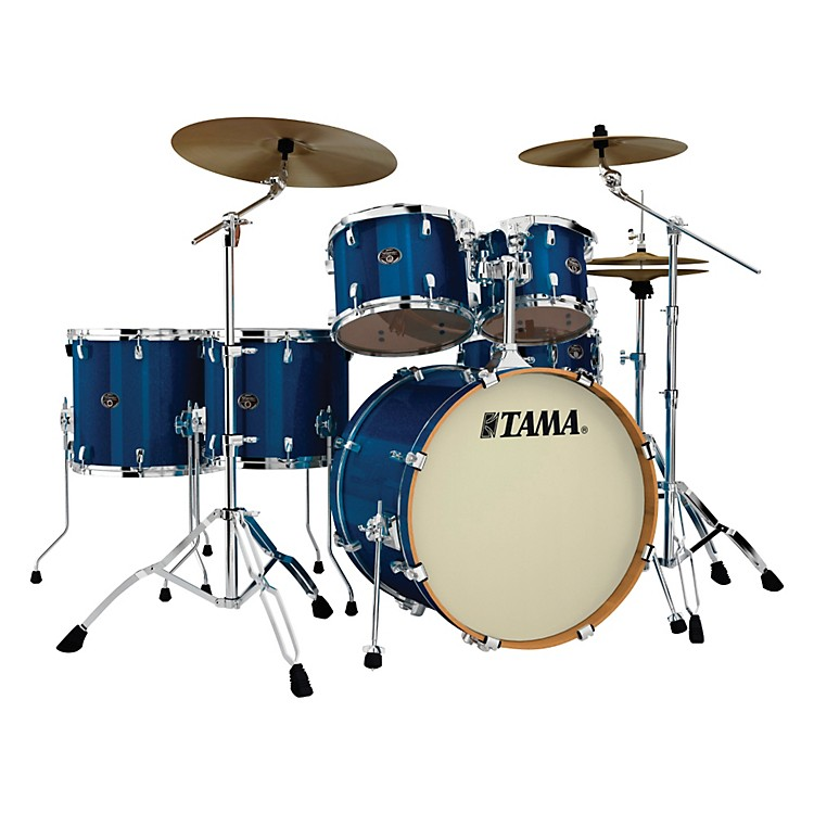 Tama Silverstar 6-Piece Accel-Driver Shell Pack Indigo Sparkle