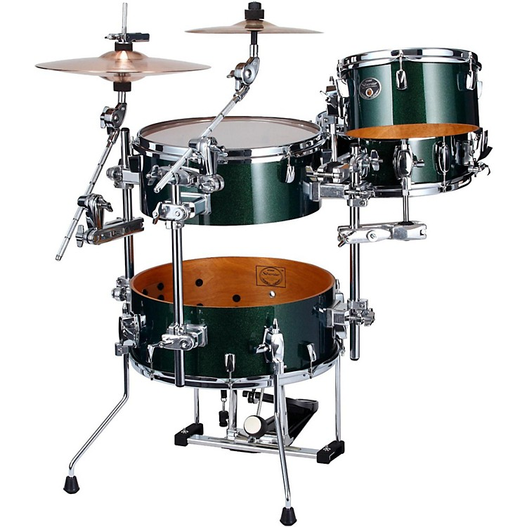 tama silverstar cocktail jam 4 piece kit with pedal and hardware musician 39 s friend. Black Bedroom Furniture Sets. Home Design Ideas