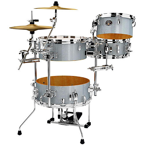 Tama Silverstar Cocktail-Jam 4-Piece Kit with Pedal