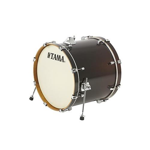 Tama Silverstar Custom Bass Drum Dark Mocha Fade 18x22