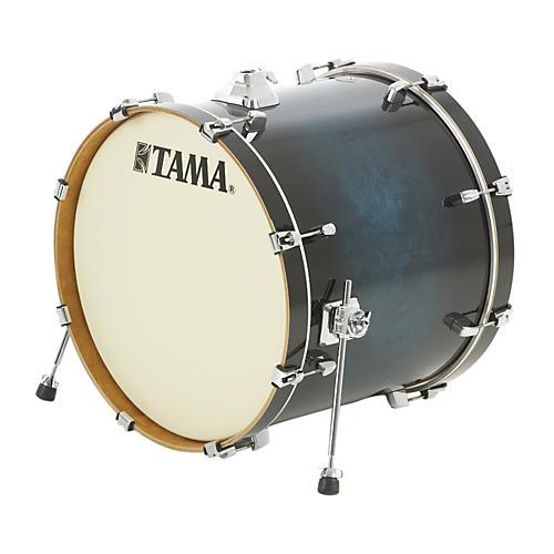 Tama Silverstar Custom Bass Drum Transparent Blue Burst 18x22
