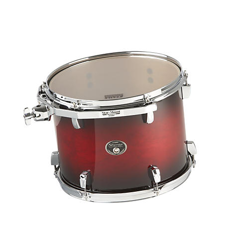 Tama Silverstar Custom Tom Transparent Red Burst 10x13