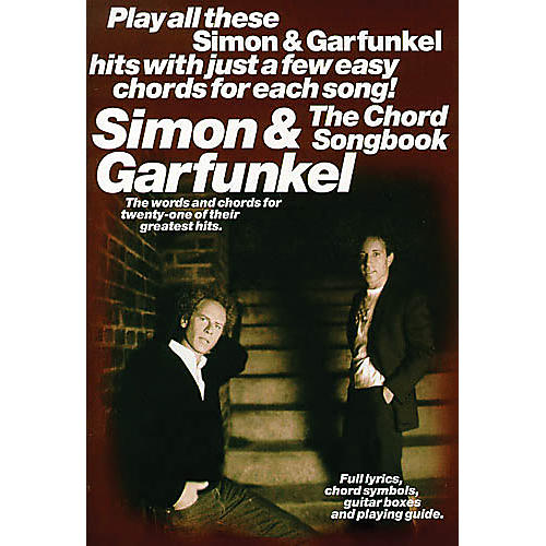 Music Sales Simon And Garfunkel - The Chord Songbook Music Sales America Series Softcover by Simon And Garfunkel-thumbnail
