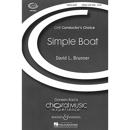Boosey and Hawkes Simple Boat (CME Conductor's Choice) SATB composed by David Brunner-thumbnail