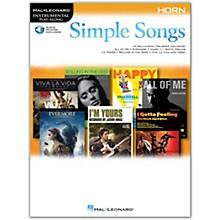 Hal Leonard Simple Songs (Horn) Horn