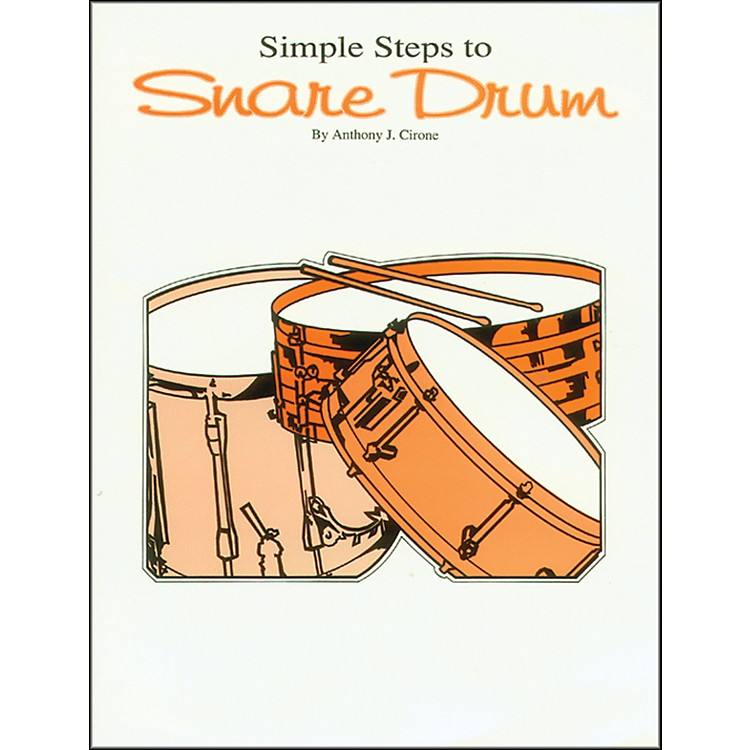 AlfredSimple Steps to Snare Drum Book