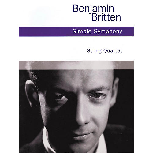 Chester Music Simple Symphony, Op. 4 (String Quartet) Music Sales America Series Softcover Composed by Benjamin Britten-thumbnail
