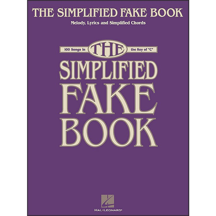 Hal LeonardSimplified Fake Book - 100 Songs In The Key Of C