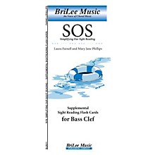 Carl Fischer Simplifying Our Sight Reading Supplemental Sight Reading Flash Cards for Bass Clef