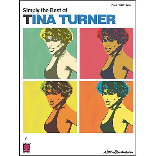 Cherry Lane Simply Best of Tina Turner Piano/Vocal/Guitar Artist Songbook