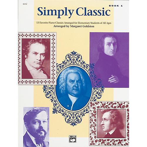 Alfred Simply Classic Book 1 Piano