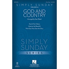 Hal Leonard Simply Sunday (Volume 4 - God and Country) CHOIRTRAX CD Arranged by Stan Pethel