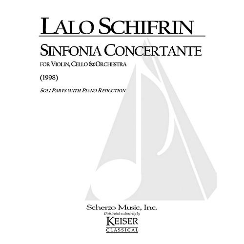 Lauren Keiser Music Publishing Sinfonia Concertante (Violin, Violoncello and Piano Reduction) LKM Music Series Composed by Lalo Schifrin-thumbnail