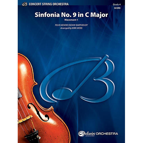 Alfred Sinfonia No. 9 in C Major String Orchestra Grade 4 Set