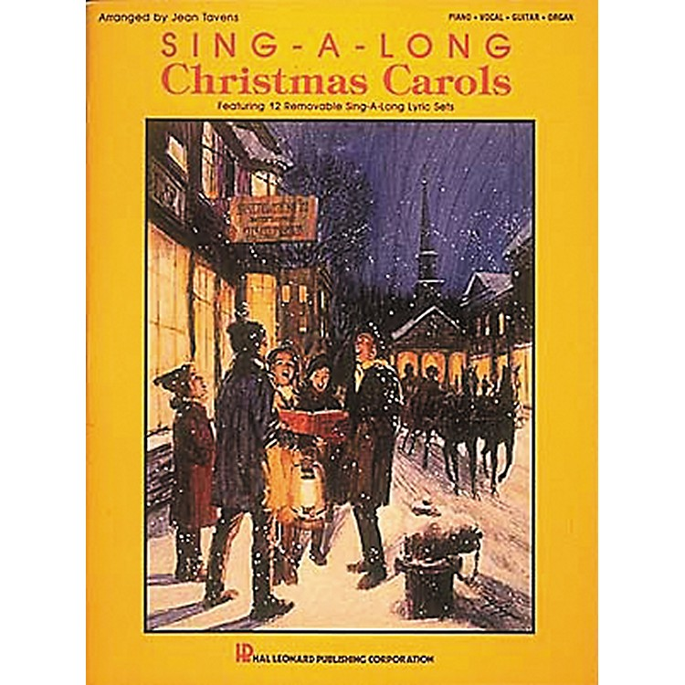 Hal Leonard Sing-A-Long Christmas Carols Piano, Vocal, Guitar Songbook