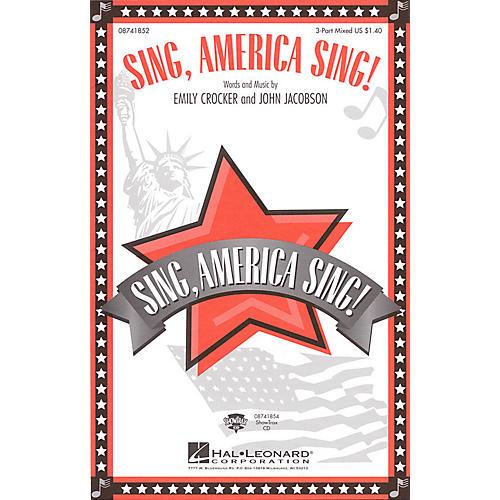 Hal Leonard Sing, America Sing! ShowTrax CD Composed by John Jacobson-thumbnail
