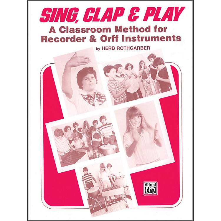 Alfred Sing Clap and Play Book
