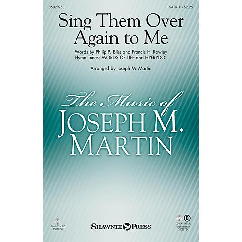 Shawnee Press Sing Them Over Again to Me Studiotrax CD Arranged by Joseph M. Martin-thumbnail