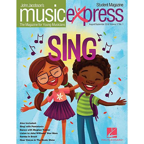 Hal Leonard Sing! Vol. 17 No. 1 (August/September 2016) Student 10Pk by Pentatonix Arranged by Emily Crocker-thumbnail