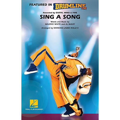 Hal Leonard Sing a Song (Drumline Live) Marching Band Level 4-5 Arranged by Raymond James Rolle II-thumbnail