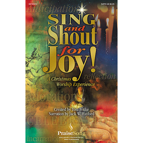 PraiseSong Sing and Shout for Joy! (A Christmas Worship Experience) SATB arranged by Tom Fettke-thumbnail
