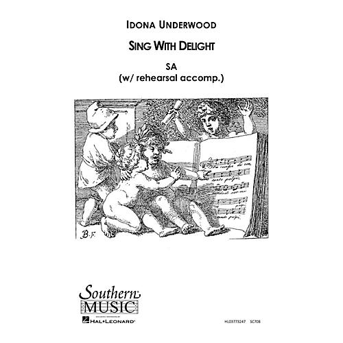 Southern Sing with Delight SA Composed by Idona Underwood-thumbnail