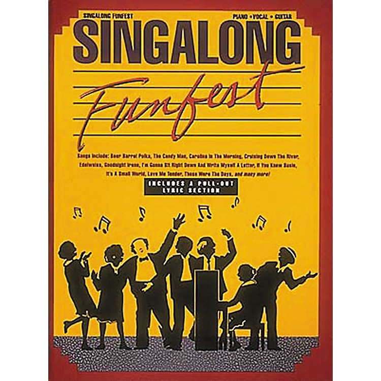 Hal Leonard Singalong Funfest Revised Piano, Vocal, Guitar Songbook