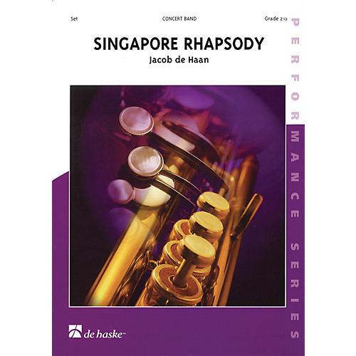 De Haske Music Singapore Rhapsody Concert Band Level 2.5 Composed by Jacob de Haan-thumbnail