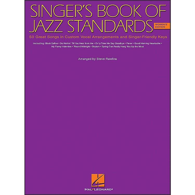 Hal LeonardSinger's Book Of Jazz Standards - Women's Edition