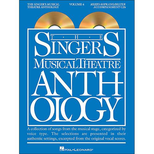 Hal Leonard Singer's Musical Theatre Anthology - Mezzo-Soprano / Belter Volume 4 Accompaniment CD's