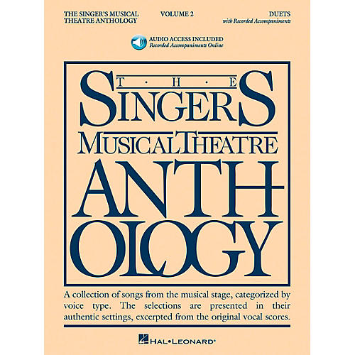 Hal Leonard Singer's Musical Theatre Anthology Duets Volume 2 Book/2CD's-thumbnail