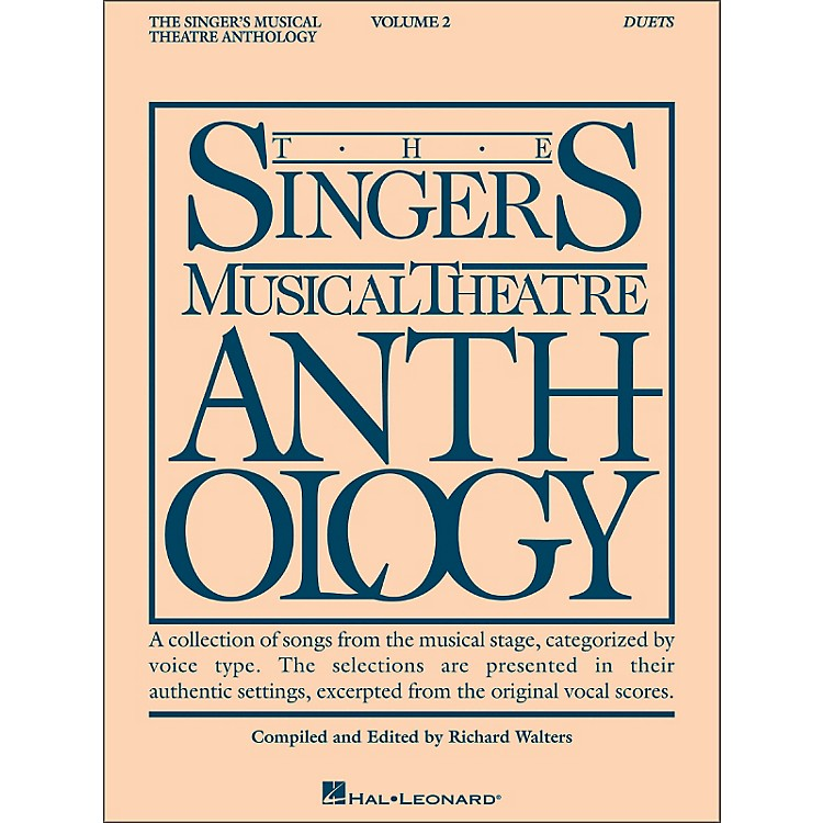 Hal Leonard Singer's Musical Theatre Anthology Duets Volume 2