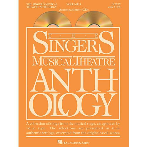 Hal Leonard Singer's Musical Theatre Anthology Duets Volume 3 Accompaniment CDs