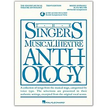 Hal Leonard Singer's Musical Theatre Anthology Teen's Edition Mezzo-Soprano/Alto/Belter (Book/Online Audio)