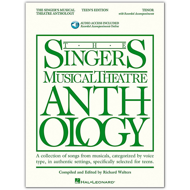 Hal Leonard Singer's Musical Theatre Anthology Teen's Edition Tenor Book/2CD