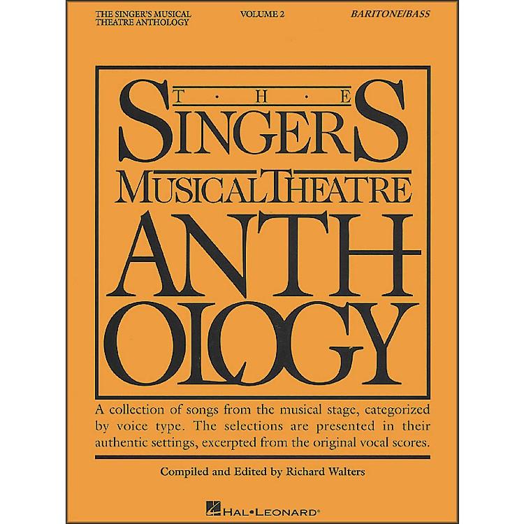 Hal LeonardSinger's Musical Theatre Anthology for Baritone / Bass Volume 2