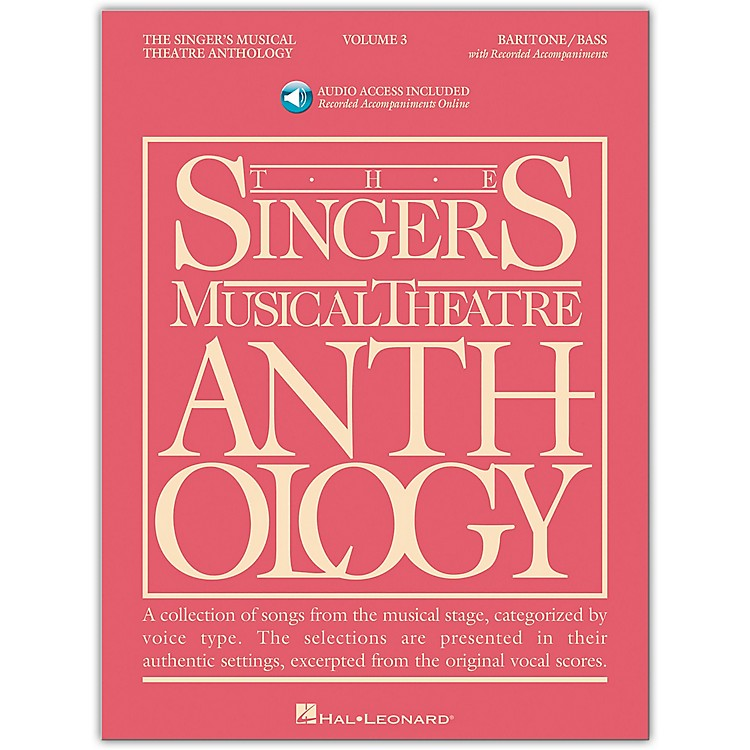 Hal Leonard Singer's Musical Theatre Anthology for Baritone / Bass Volume 3 Book/2CD's