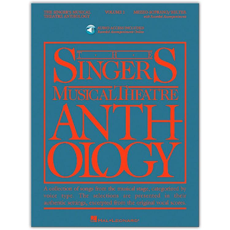 Hal LeonardSinger's Musical Theatre Anthology for Mezzo-Soprano / Belter Volume 1 Book/2CD's