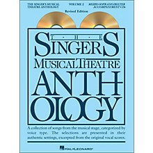 Hal Leonard Singer's Musical Theatre Anthology for Mezzo-Soprano / Belter Volume 2 2CD's Accompaniment