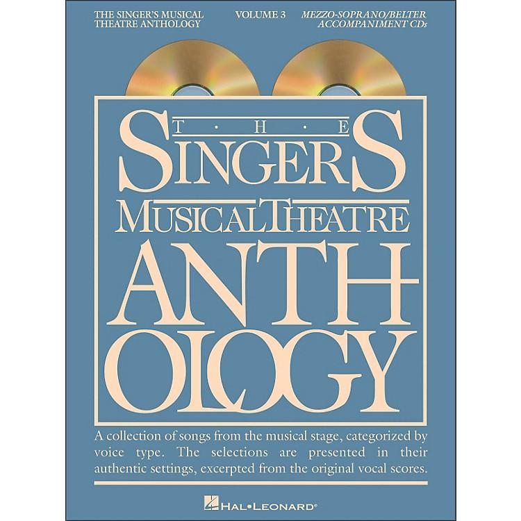 Hal LeonardSinger's Musical Theatre Anthology for Mezzo-Soprano / Belter Volume 3 2CD's Accompaniment
