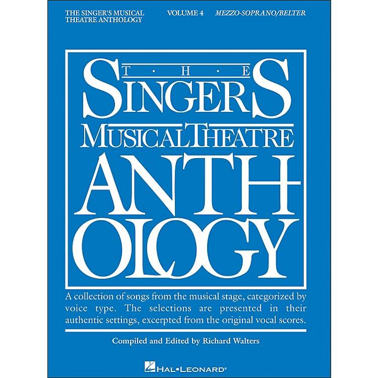 Hal LeonardSinger's Musical Theatre Anthology for Mezzo-Soprano / Belter Volume 4