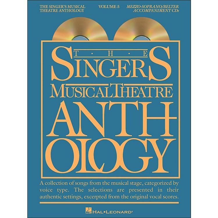 Hal LeonardSinger's Musical Theatre Anthology for Mezzo-Soprano / Belter Volume 5 2 CD's Accompaniment